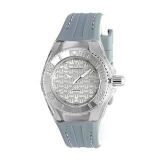 Technomarine TECHNO MARINE Techno Marine Womens Gray Strap Watch-Tm-115157