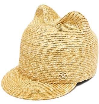 Maison Michel Jamie Straw Hat - Womens - Beige