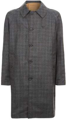 Lanvin Reversible Check Trench Coat