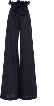 Alexis Sweeny Wide Leg Linen Pants
