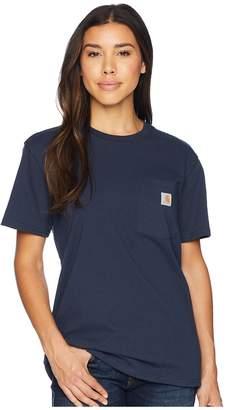 Carhartt WK87 Workwear Pocket Short Sleeve T-Shirt Women's T Shirt