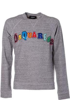 DSQUARED2 Embroidered Logo Sweatshirt