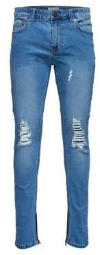 ONLY & SONS Ripped Skinny Jeans