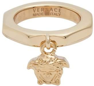 Versace Medusa charm ring