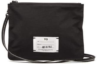 Y-3 Y 3 Technical Pouch Cross Body Bag - Mens - Black