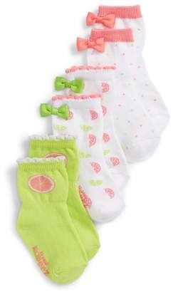 Robeez R) Citrus 3-Pack Socks
