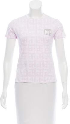 Pedro Del Hierro Logo Printed Short Sleeve T-Shirt w/ Tags