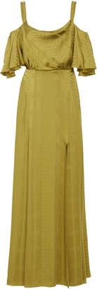 Temperley London Erika Satin Slit Dress