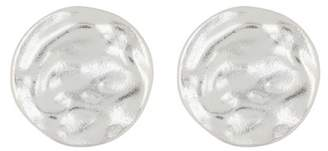Argentovivo Sterling Silver Wavy Stud Earrings