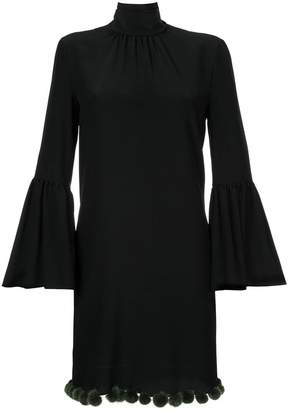 Fendi bell sleeve dress