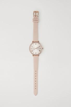 H&M Watch with Rhinestones - Orange