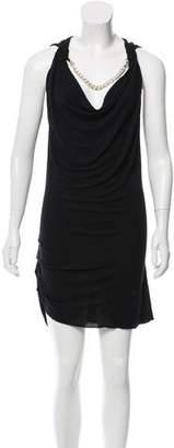 Barbara Bui Adorned Mini Dress