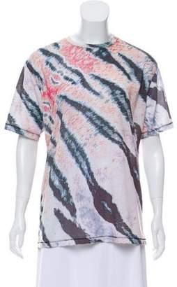 Baja East Printed Short Sleeve T-Shirt