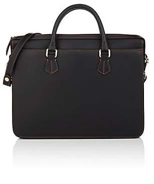 Boldrini Selleria Men's Leather Briefcase - Black