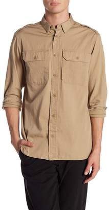 AllSaints Picket Slim Fit Shirt
