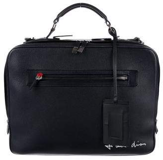 Christian Dior 2015 Leather Runway Briefcase