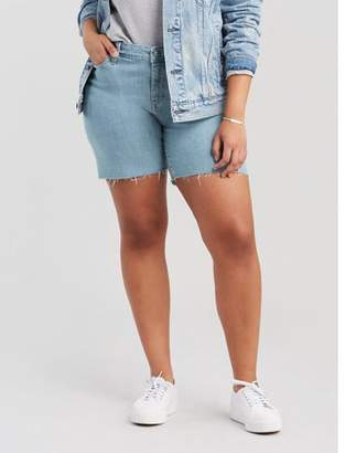 Levi's Women's Plus Size Jean Short
