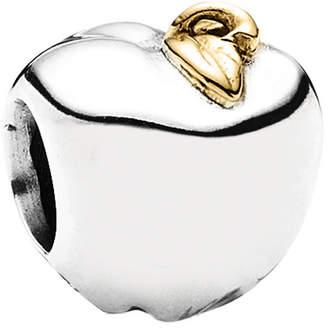 Pandora Apple 14K & Silver Charm