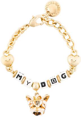Dolce & Gabbana dog charm bracelet