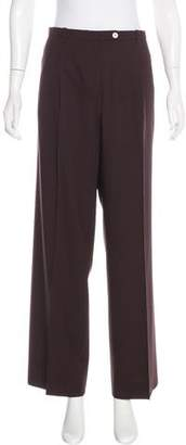 Hermes Virgin Wool Wide-Leg Pants