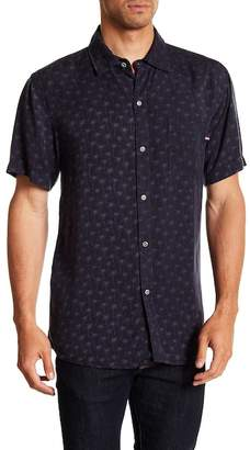 Sol Angeles Palmfetti Short Sleeve Woven Shirt