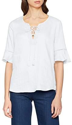 Benetton Women's Blouse, (White 101), X-Large