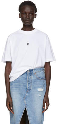 Marcelo Burlon County of Milan White Heart Wings T-Shirt