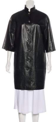 Chanel Paris-Bombay Leather Coat