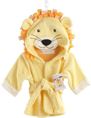 Baby Aspen Big Top Bath Time Lion Hooded Robe - Baby