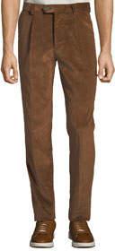 Men's Leisure Fit Darted Corduroy Pants