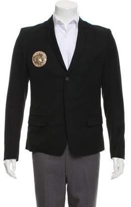 Balmain Embellished Wool Blazer black Embellished Wool Blazer