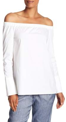Lafayette 148 New York Amy Off-the-Shoulder Blouse