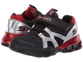 Skechers Gore Strap Sneaker 97990L (Little Kid/Big Kid)