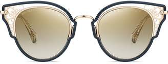 Jimmy Choo Eyewear cat-eye shaped sunglasses