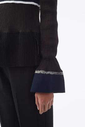 3.1 Phillip Lim Exclusive Ribbed Long-Sleeve Top