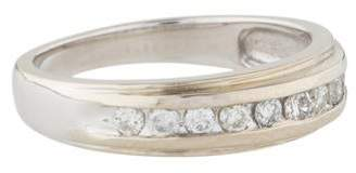 Ring 14K Diamond Half Eternity Band