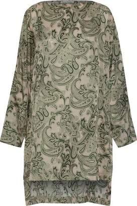 Acne Studios Brenda Printed Sateen Dress