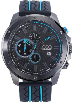 ESQ Mens Black Strap Watch-37esq019301a