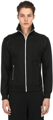 Maison Margiela Tuxedo Zip-Up Jersey Track Jacket