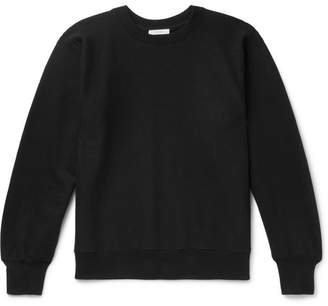 The Row George Loopback Cotton-Jersey Sweatshirt