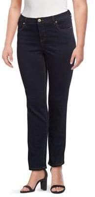 INC International Concepts Plus Five-Pocket Skinny Jeans