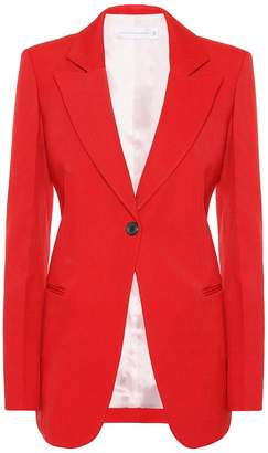 Victoria Beckham Single-breasted wool blazer
