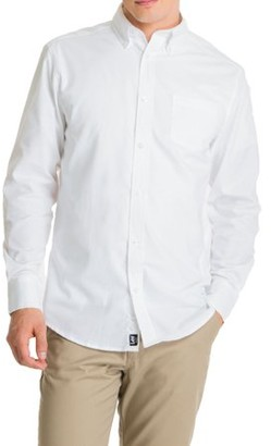 Lee Young Men's Long Sleeve Oxford Shirt