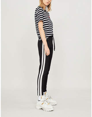 Markus Lupfer Lara Lip striped cotton-jersey t-shirt
