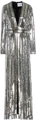 Galvan Stardust Sequined Chiffon Gown