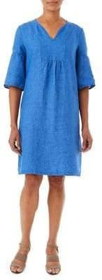 Olsen Island Breeze Linen New Sleeve Dress