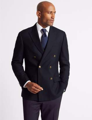 Marks and Spencer Textured Pure Wool Jacket