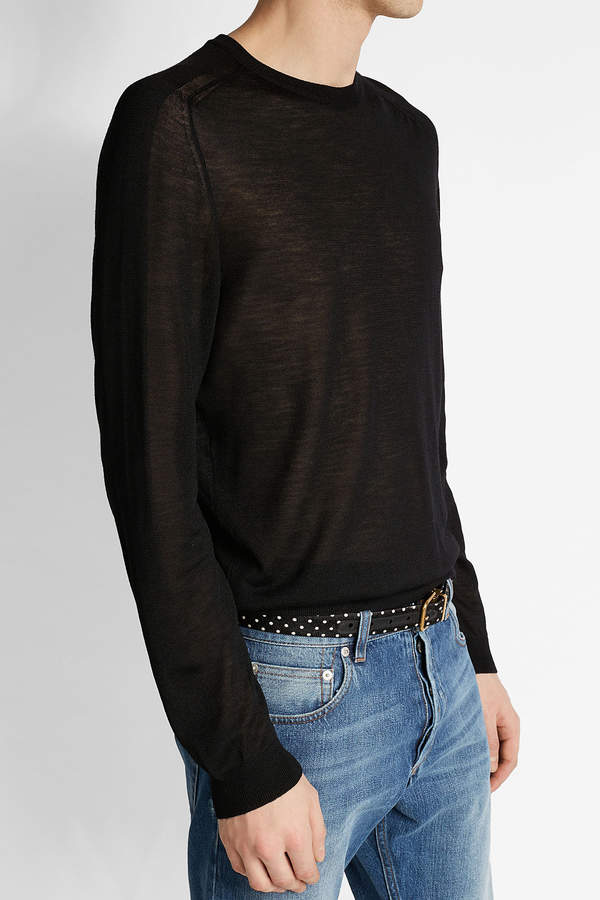 Calvin Klein Collection Pullover with Wool