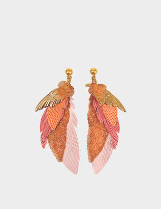 Swarovski Exclusive L'iroquoise earrings with crystals