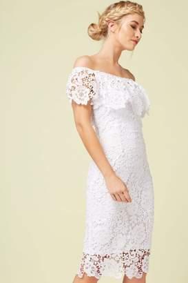 Paper Dolls White Crochet Dress